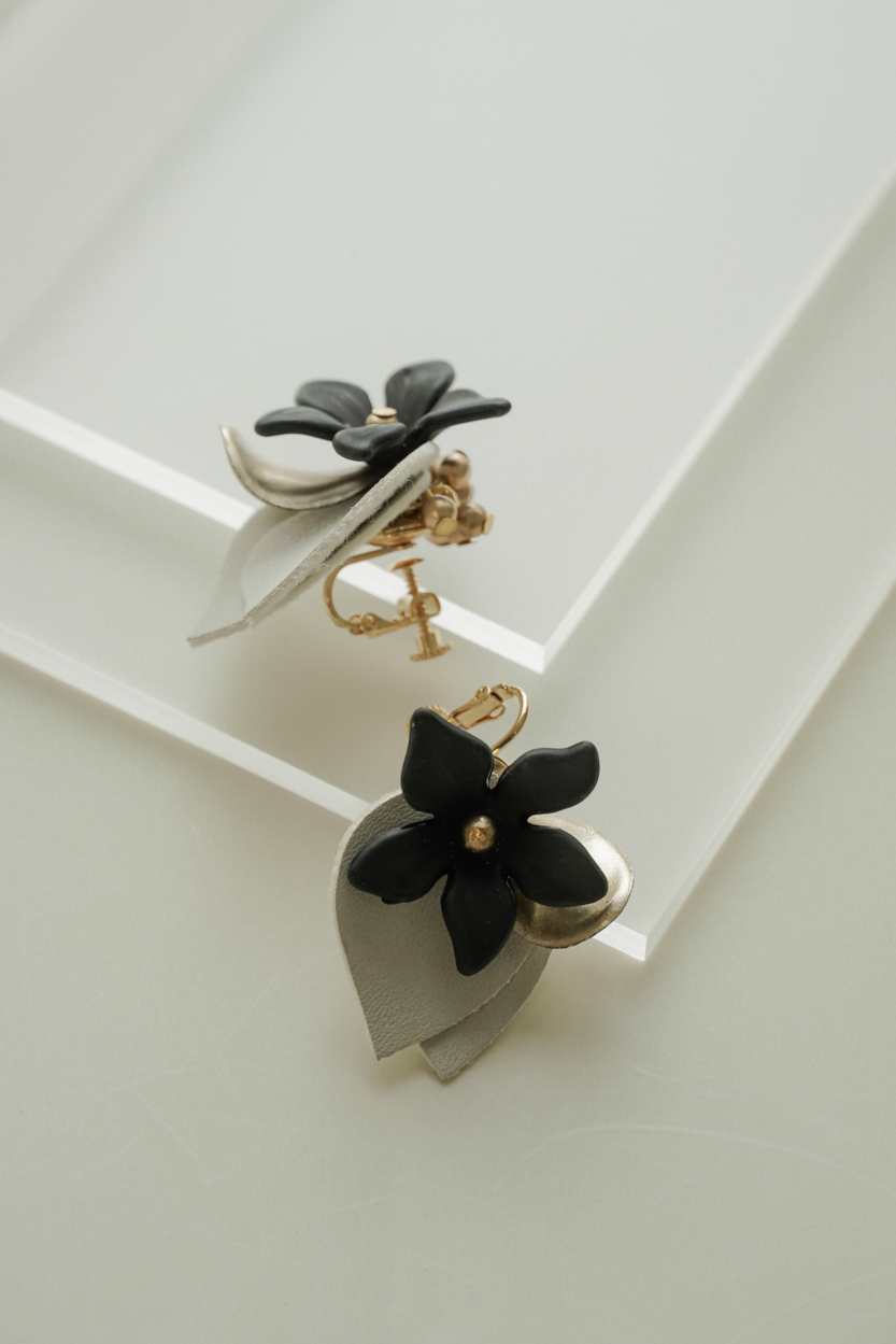 Alava - Clip Earrings
