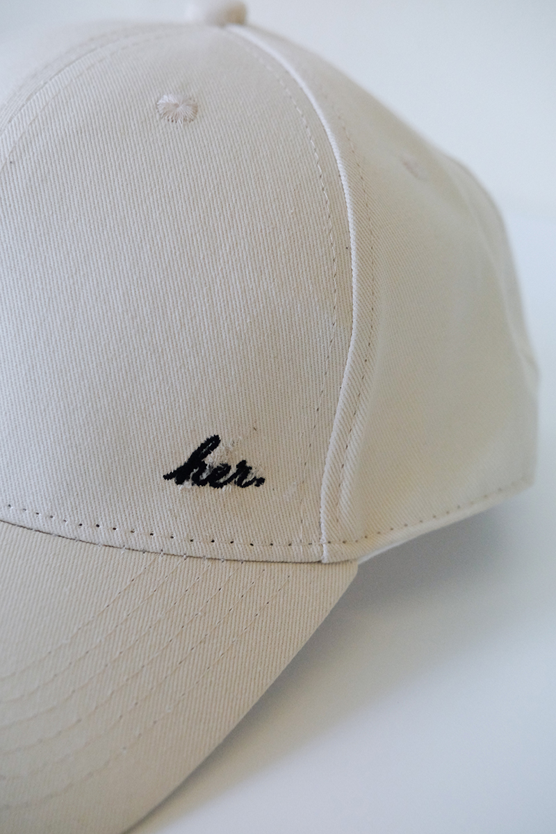 HER Cap in Off-White